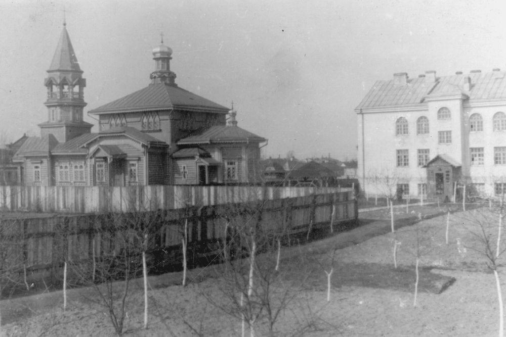 Церква і монастир отців Редемптористів у Ковелі (1933р.)